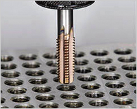 高硬度用超硬タップ